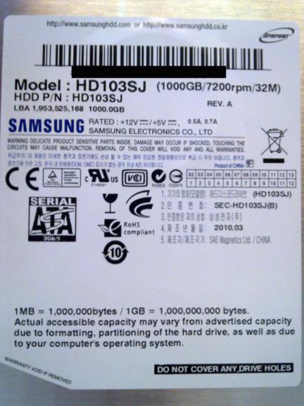 img 248kopieajwj - [Review] 1000GB Samsung F3 HD103SJ Festplatte